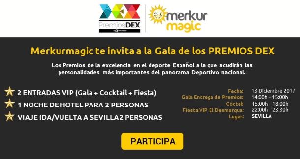 Entrada gratis Gala Premios DEX