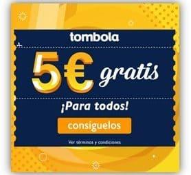 Tombola 5 euros gratis