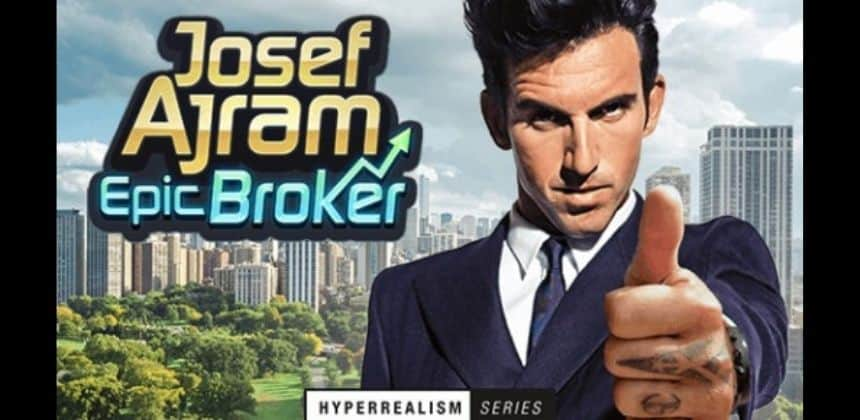 La nueva slot Josef Ajram: Epic Broker
