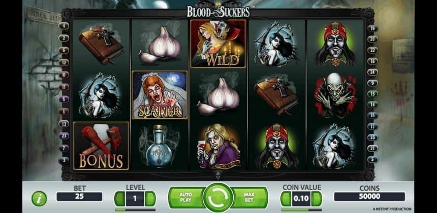 Llega la nueva slot Blood Suckers