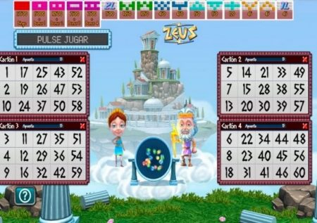 Te enseñamos como jugar al Zeus Bingo