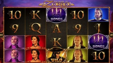 Descubre la slot The Mask of Zorro