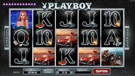 Juega a la slot Playboy