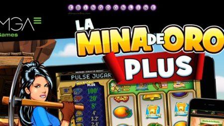 Juega y gana con la slot La Mina de Oro Plus