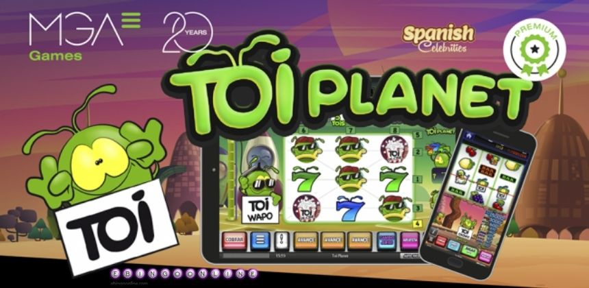 ¡Ha llegado la slot TOI Planet!