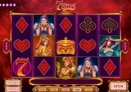 Peca jugando a la slot 7 Sins