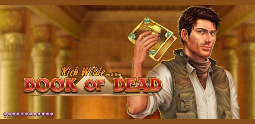 Muérete de miedo con la slot Book of Dead