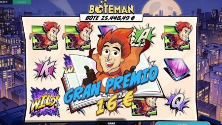 No te pierdas la slot Boteman
