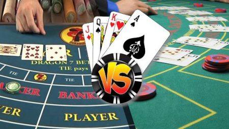 Blackjack vs Baccarat: ¿Cuál es mejor?